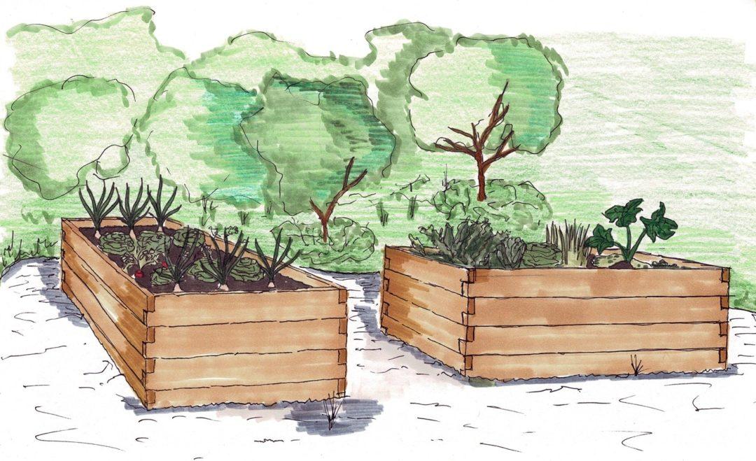 Hochbeete sind für jeden Gärtner eine praktische Sache.